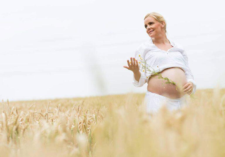 Schwangerschaftsshooting in Feldern, Dortmund