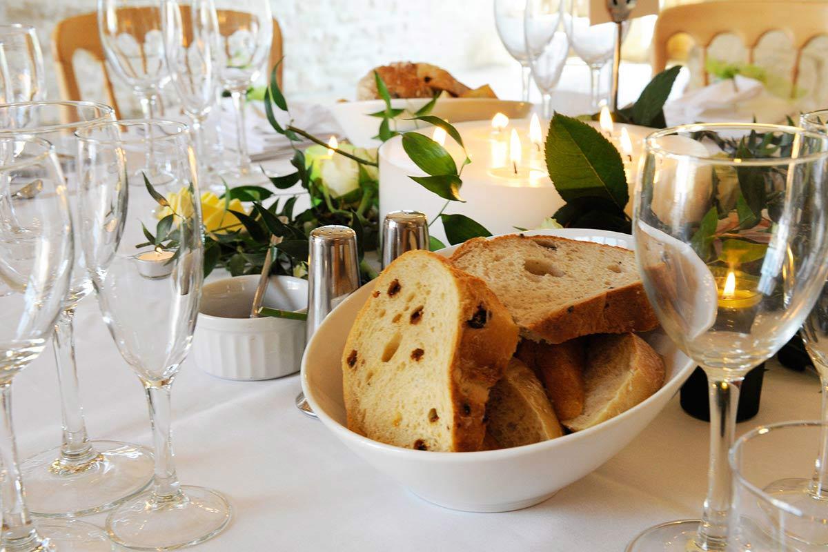 Honeylight Hochzeitsfotograf: Tischdekoration auf Hochzeit