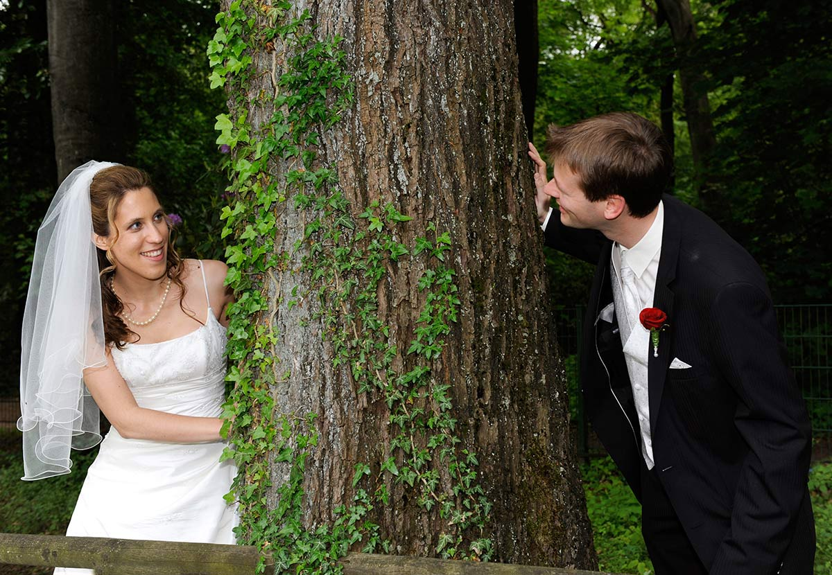 Brautpaar in Schwerte am Freischütz