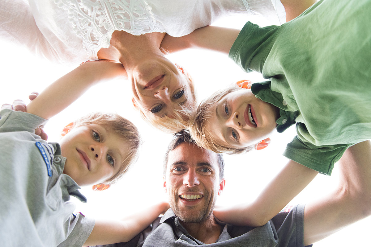 Lifestylefotografie Honeylight: Familienfotos