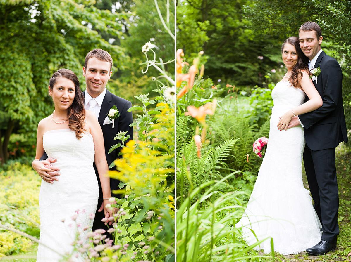 Hochzeitsfotografie Honeylight: Hochzeitsfotos vom Brautpaar in Dortmund Rombergpark