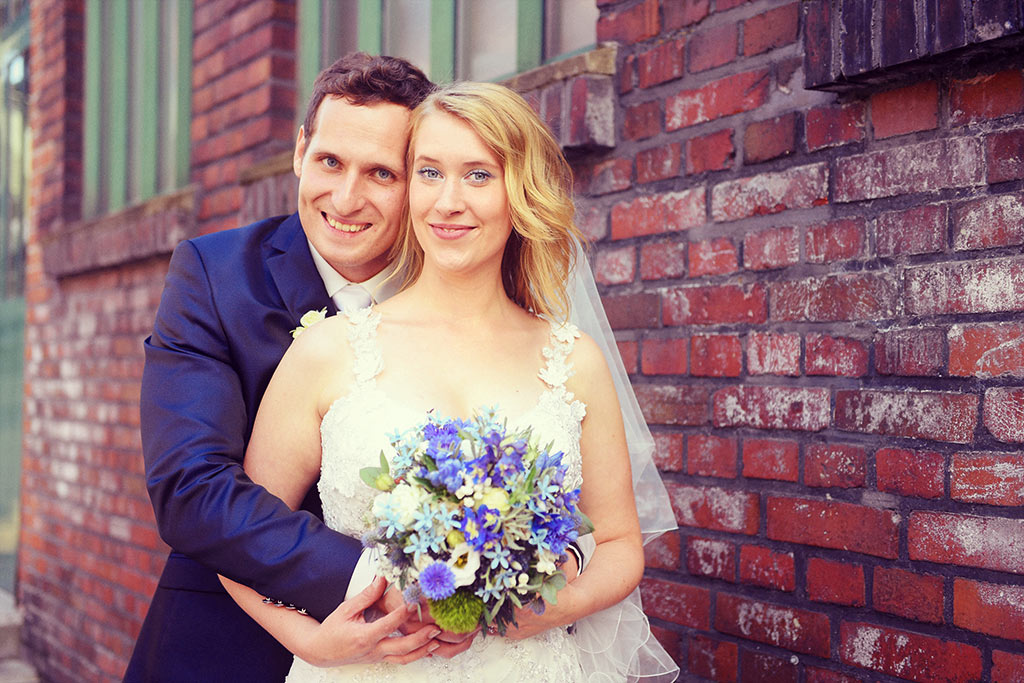 Hochzeit auf Zeche Zollern in Dortmund