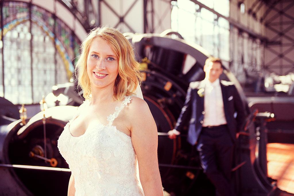 Hochzeit auf Zeche Zollern Dortmund
