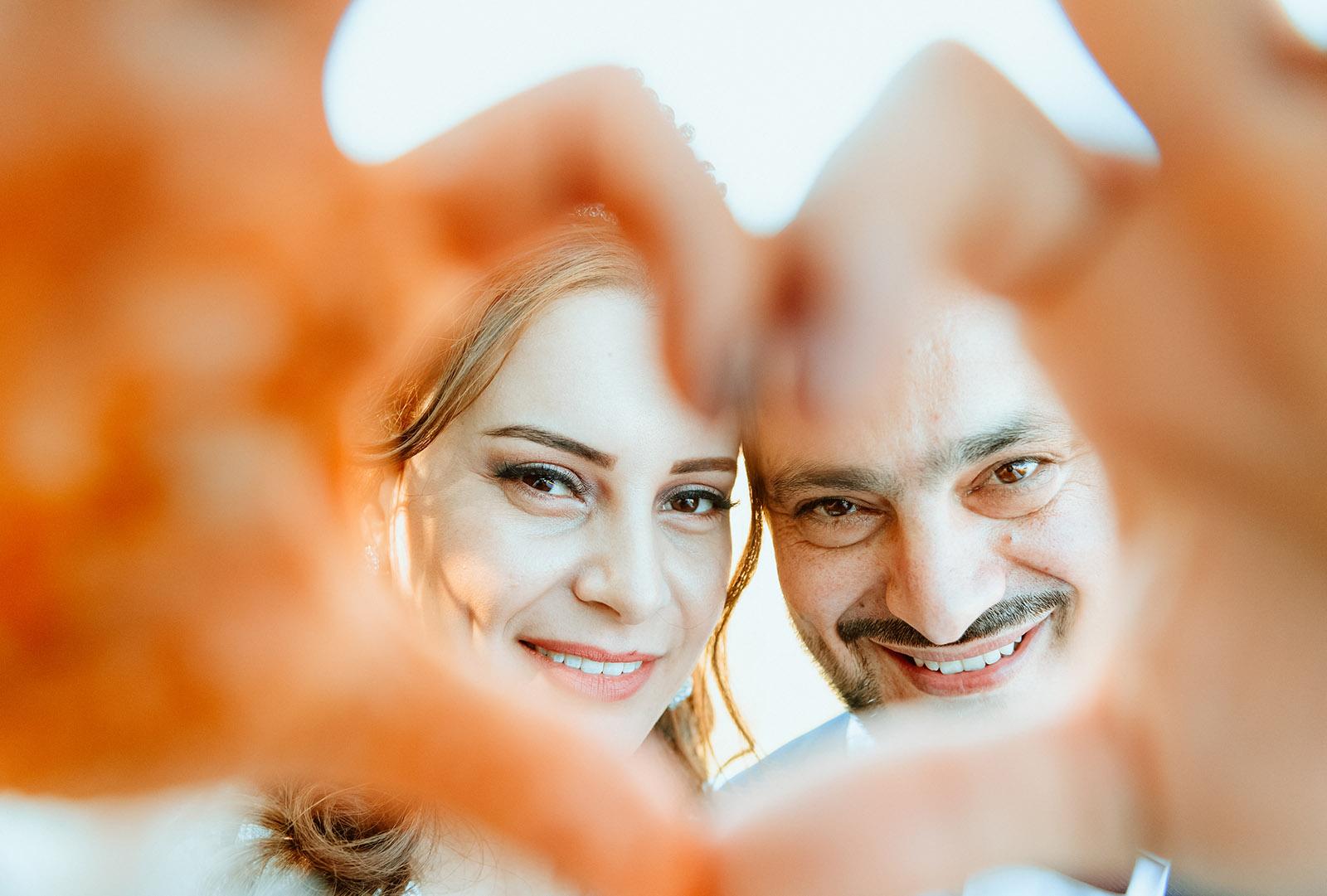 Hochzeitsfoto von Brautpaar