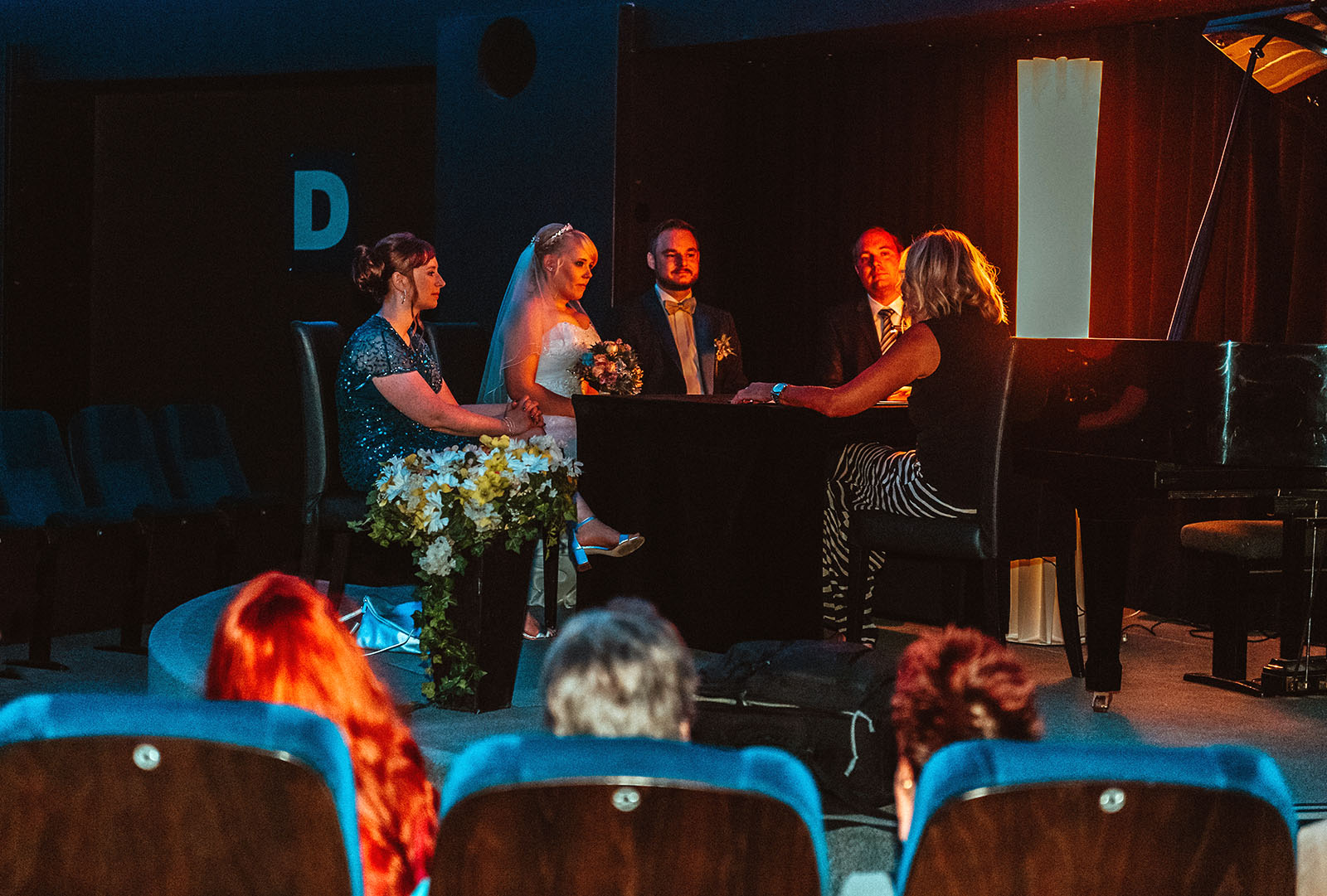 Hochzeit im Planetarium Bochum