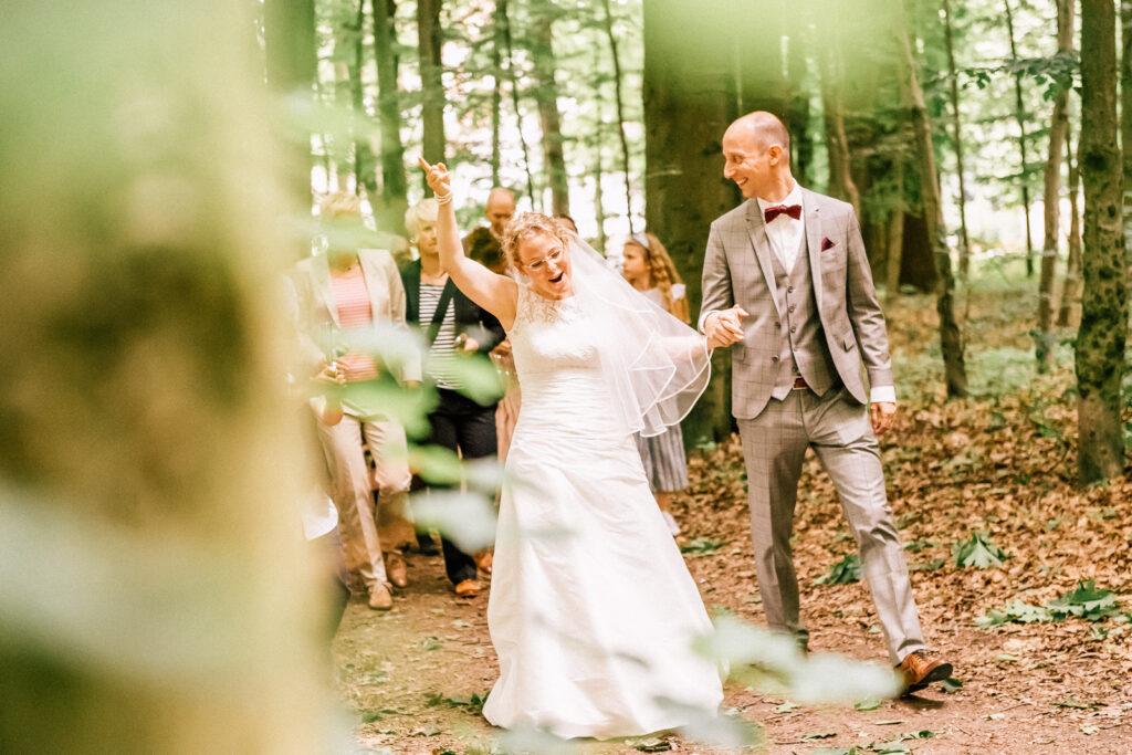Wald in Schwerte, Hochzeit