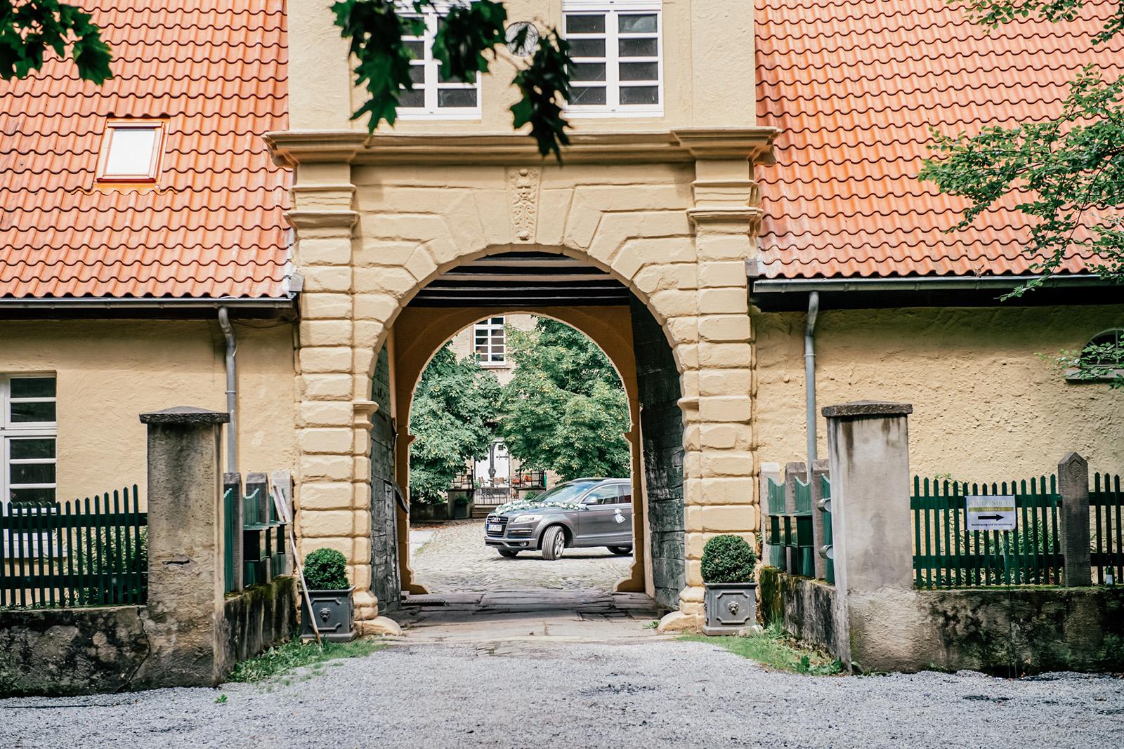 Hochzeitsauto in Kamen